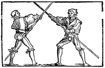 Fighting With Staff and Spear – The Academy of European