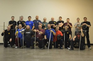 Nordschlag Western Martial Arts workshop participants 2014