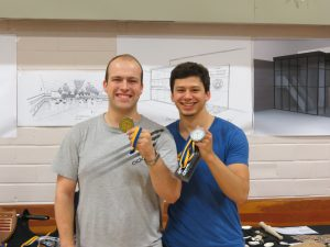 Synthetic Longsword Medallists (Missing Jacob)